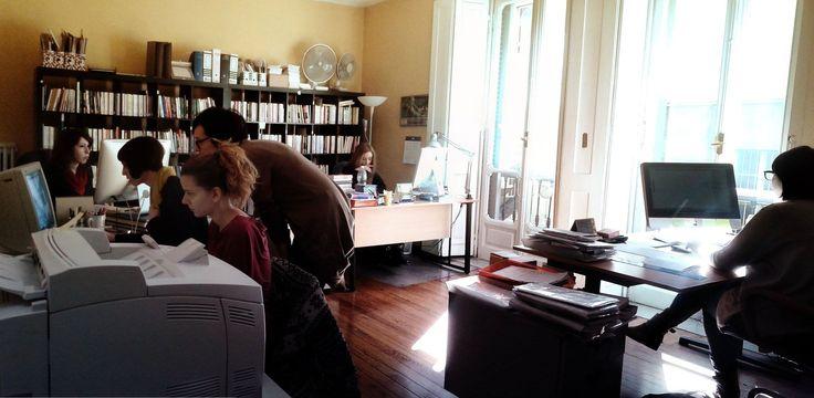 Il lavoro in #redazione!