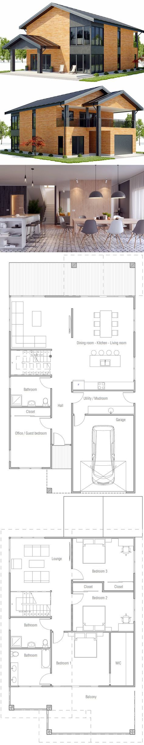 I kind of like this floor plan