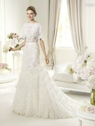 so in love with #lace... Elie by #eliesaab bridal 2013 collection