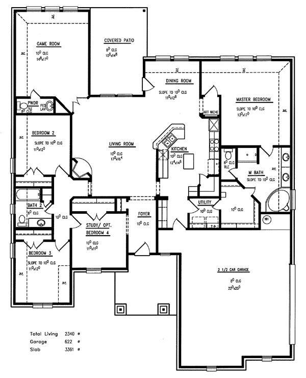 78 best home plans images on pinterest floor plans home for Half basement house plans