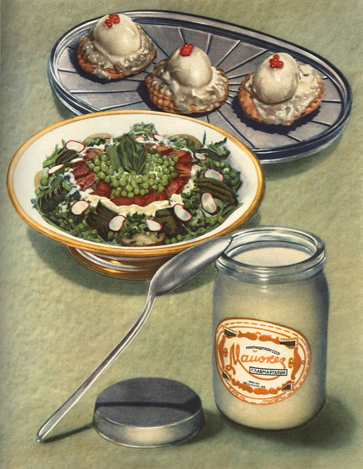 There are plenty of food for every peasants and workers who had toiled hard for the socialist cause, at least this is what they meant in these soviet propaganda posters. Description from sgforums.com. I searched for this on bing.com/images