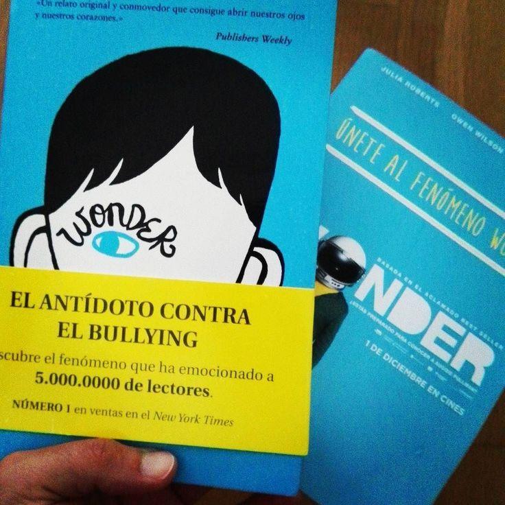 Lectura muy recomendable para este verano. #wonder Gracias @waytoblueglobal !