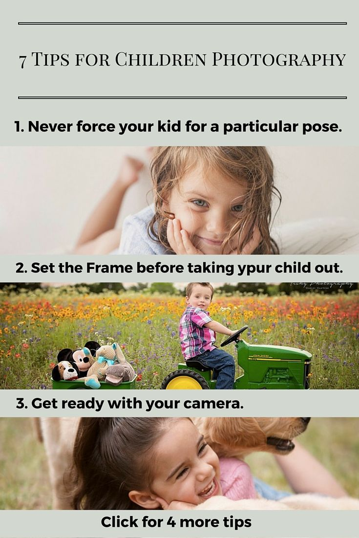 7 Quick Tips for Amazing Children Photography