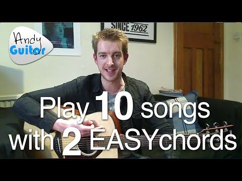 EASY 2 Chord Song #8 When Love Comes To Town (U2/ B.B. King) TEN songs with 2 EASY chords! - YouTube