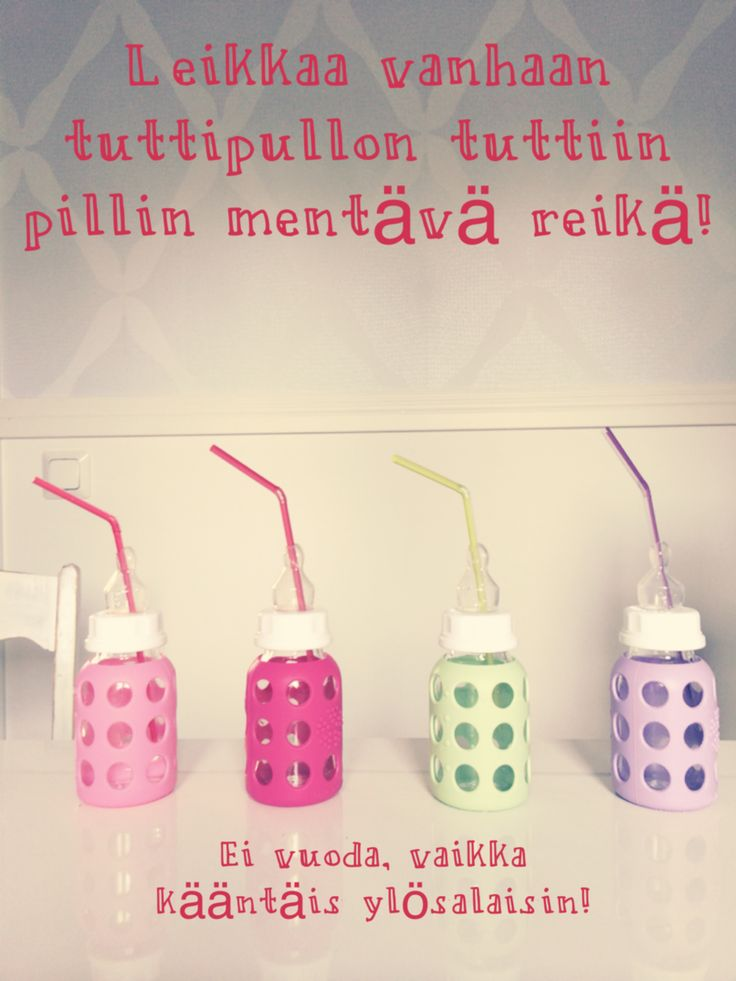 Pillimuki vauvalle tuttipullosta, diy - A&A at HoMe | Lily.fi