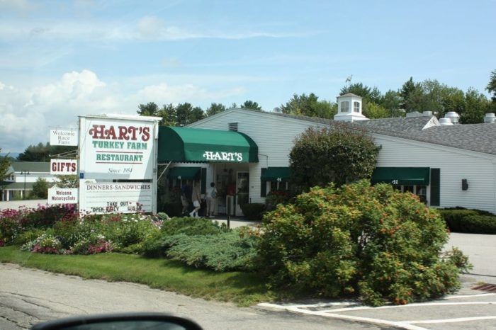 Hart's Turkey Farm in Meredith - At This New Hampshire Restaurant, Thanksgiving Lasts All Year