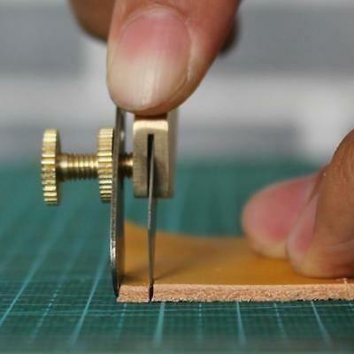 Leather Craft herramientas hágalo usted mismo incisión Cuchilla De Cobre recor…