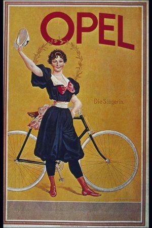 Ретро реклама велосипедов