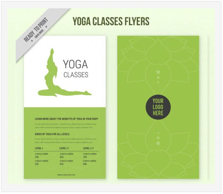 10 Free Yoga Flyer Templates In Psd Ai Eps