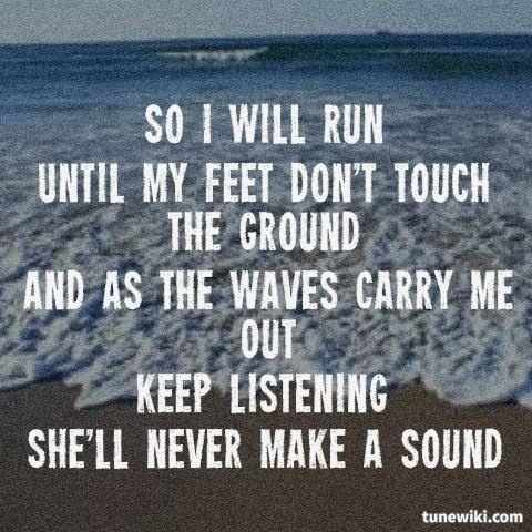 """-- #LyricArt for """"Ocean And Atlantic"""" by Mayday Parade"""
