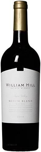 nice 2010 William Hill Estate Bench Blend Malbec Amazon Exclusive Red Wine 750mL