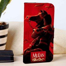 Mulan | Disney | Movie | custom wallet case for iphone 4/4s 5 5s 5c 6 6plus case and samsung galaxy s3 s4 s5 s6 case