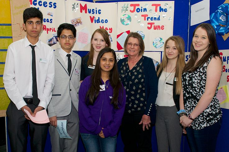A team from Redhill School with their music pitch