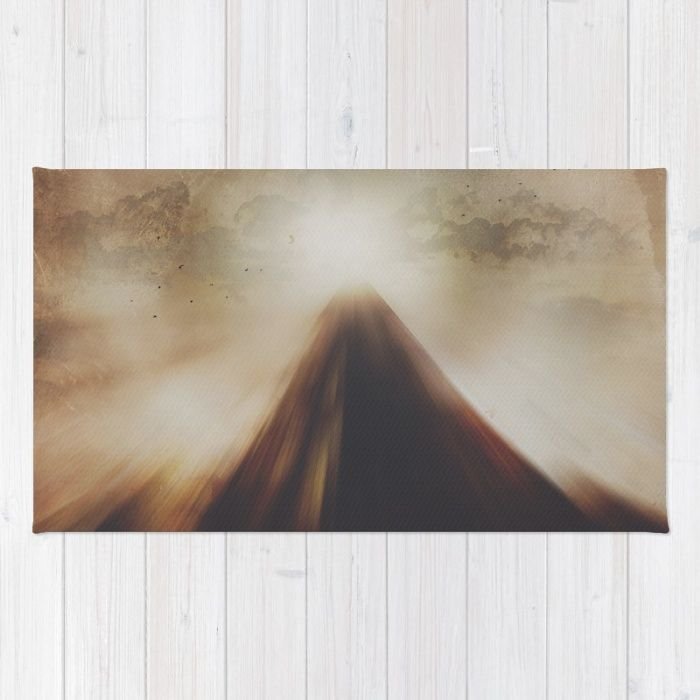 Buy Area & Throw Rugs with design featuring The mountains we climb by HappyMelvin and adorn your home with both style and comfort. Available in three sizes (2' x 3', 3' x 5', 4' x 6').