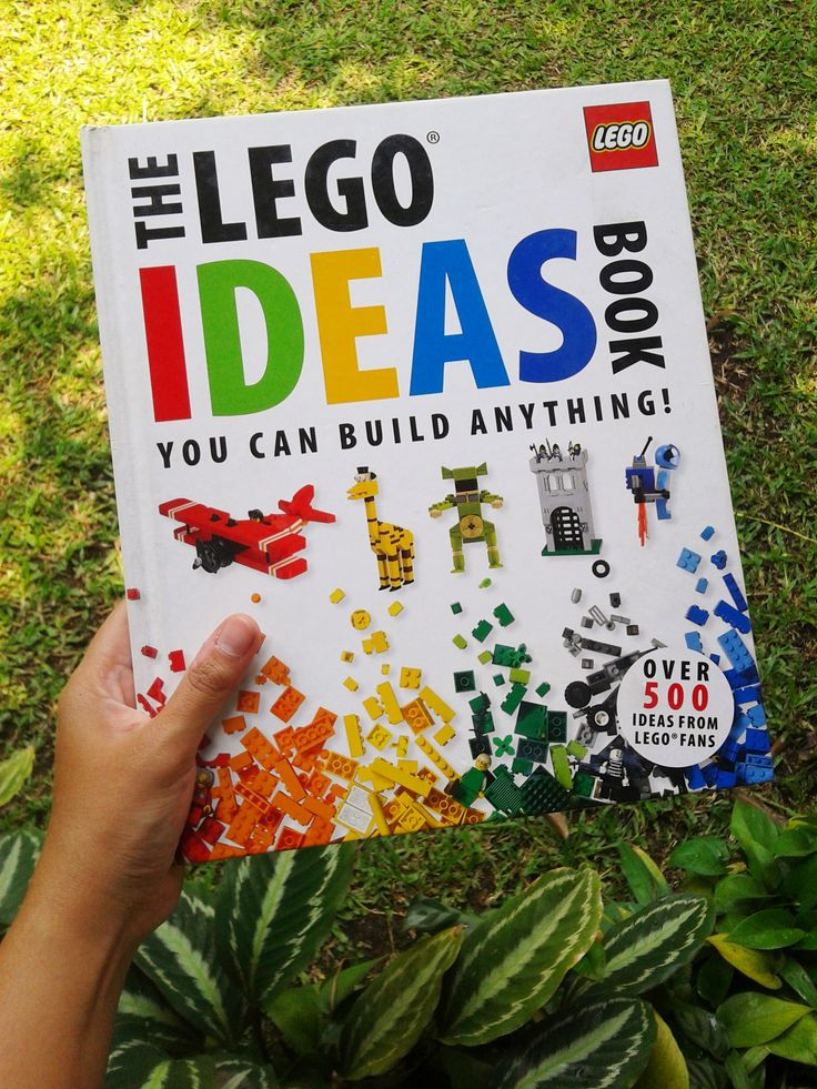The LEGO Idea Book You Can Build Anything!
