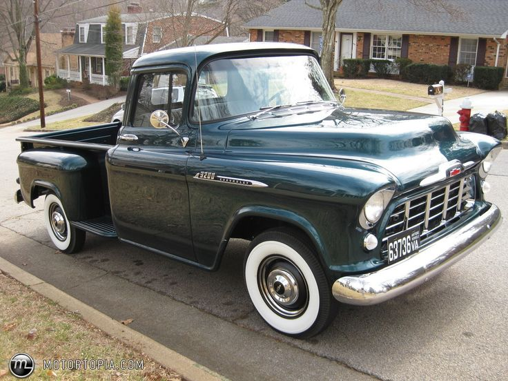 1956 chevy pickup | Photo of a 1956 Chevrolet 3200 Stepside Pickup (TheRenanRambler)