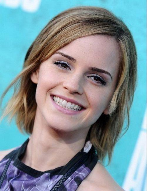 Emma Watson Medium Hair 2017