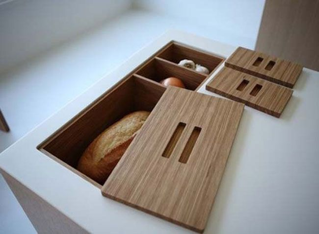 Turn your counter into precious storage space