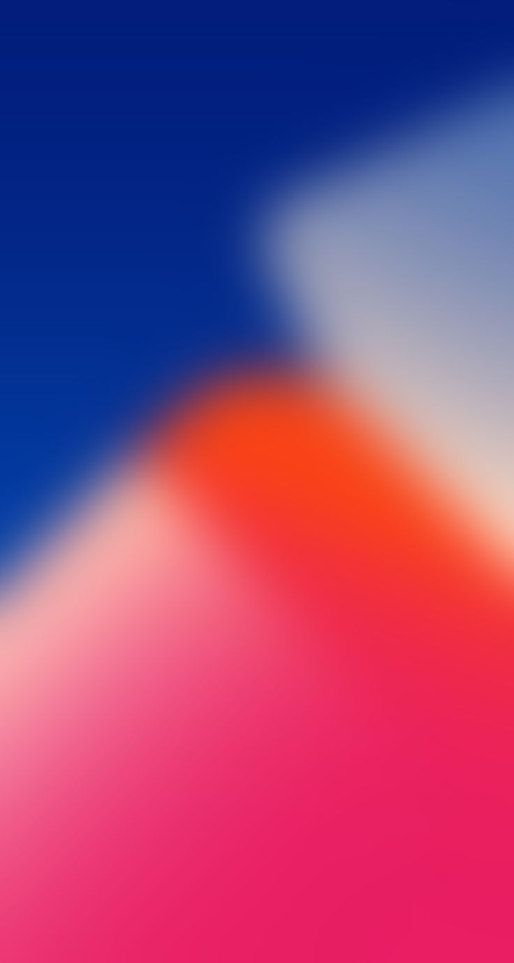 iOS 11, Red, blue, abstract, apple, wallpaper, iPhone x