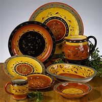 Tuscan Country Dinnerware Kohl\u0027s | ... Country Chef Tuscan Southwest & 12 best TUSCANY DINNERWARE PATTERNS images on Pinterest | Dinnerware ...