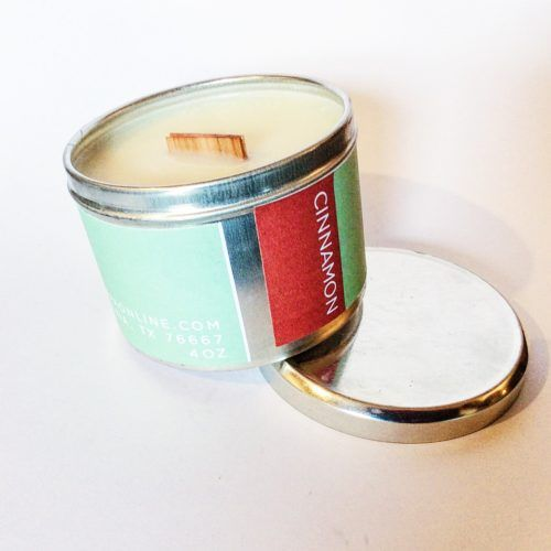 Home Fragrance   Poepa Soap - CINNAMON SOY CANDLE