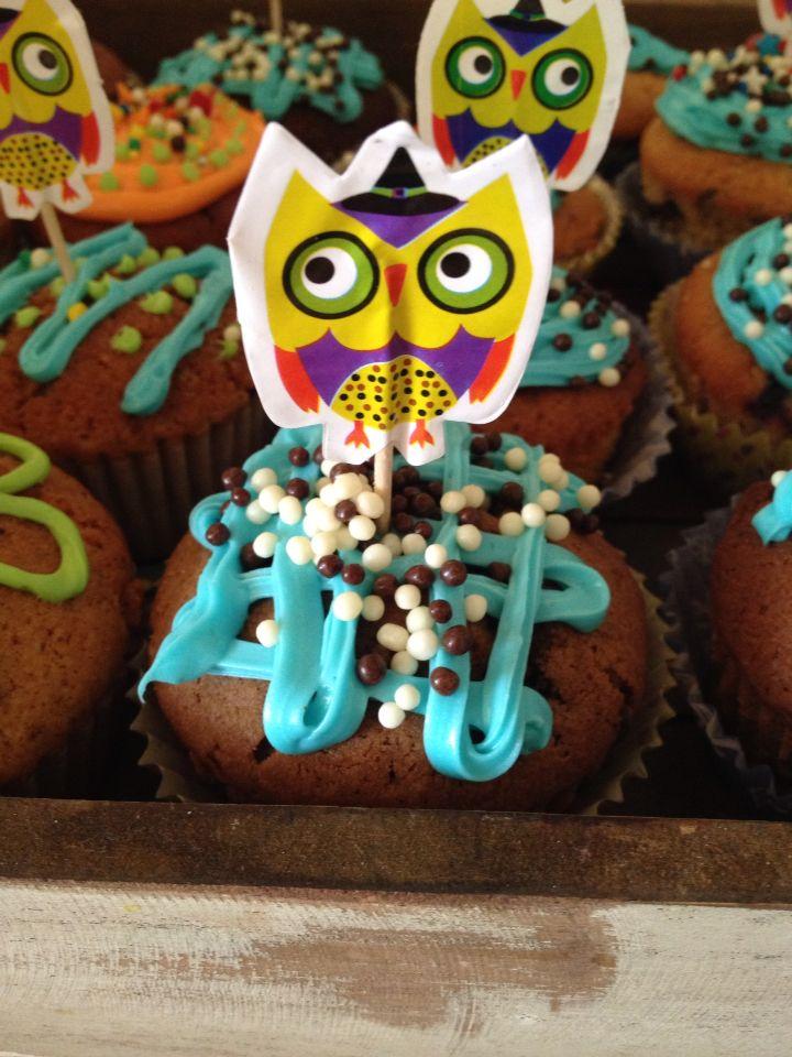 Cupcakes Búho