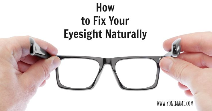 Follow these steps to help improve your eyesight naturally!