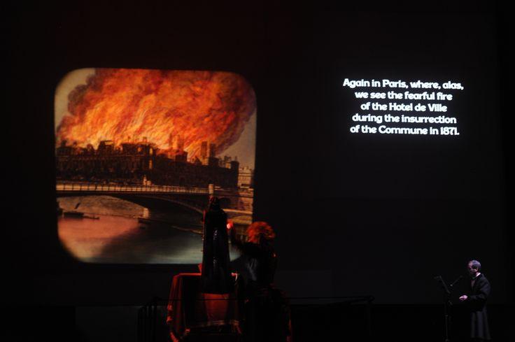 Incendio Parigi foto di Elena Tubaro