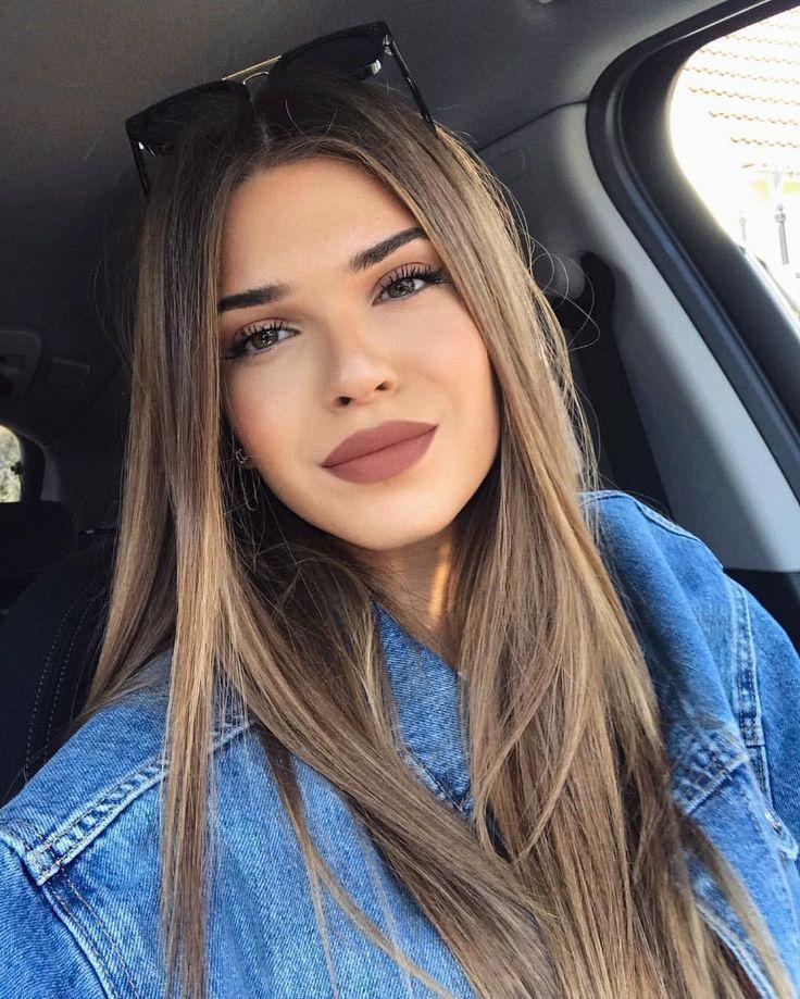 bold matte lip color #style #beauty