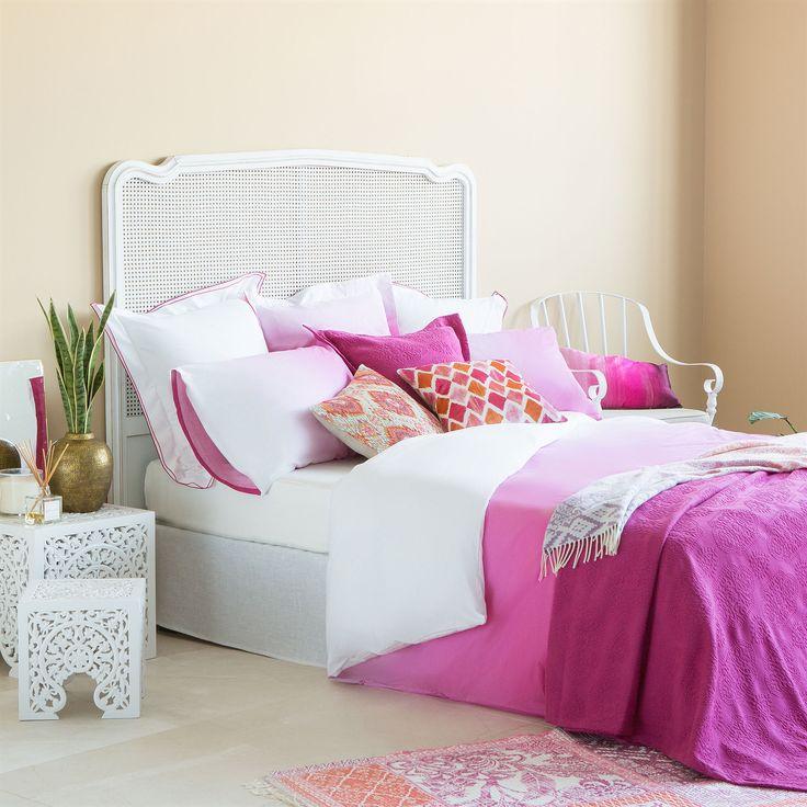 Σεντόνια και Θήκες με Ροζ Ντεγκραντέ Σχέδιο - Σεντόνια & μαξιλαροθήκες - Κρεβατι   Zara Home Ελλάδα / Greece