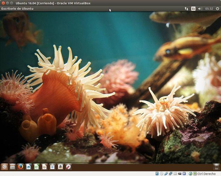 Probando la nueva versión de UBUNTU 16.04 (Beta 2)  Como podéis ver en la captura Canonical ya ha incluido los paquetes para mover el lanzador (barra lateral) a la parte inferior en Ubuntu 16.04 LTS  El lanzamiento oficial de la versión estable esta pautado para el 21 de abril de este año (2016). Por ahora pinta bien veremos como anda. De todos formas siempre es aconsejable probar las versiones por ejemplo con una maquina virtual como en mi caso que utilizo VirtualBox y esperar meses mas…