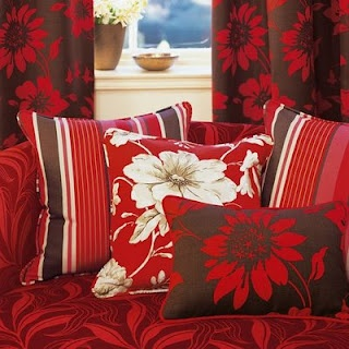 Red With Brown Accent Pillows · Accent PillowsRoom DecorFamily ...