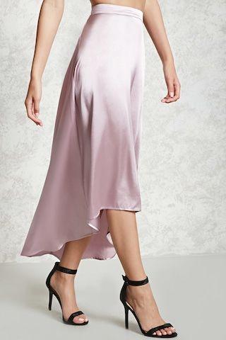 Contemporary Satin Skirt