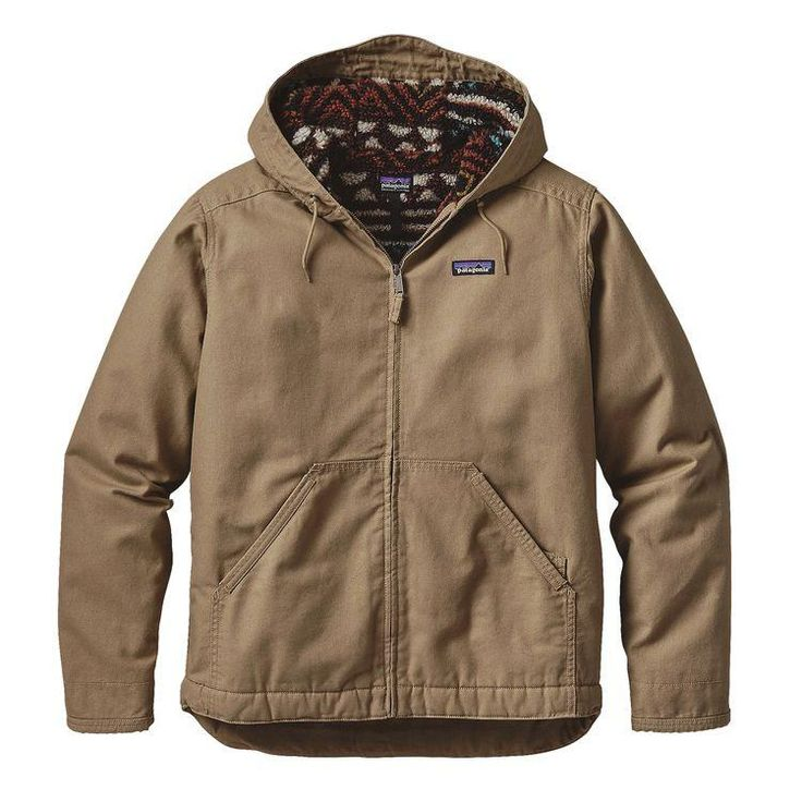 M's Lined Canvas Hoody - PATAGONIA
