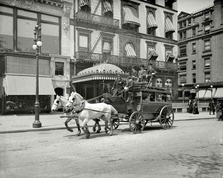 New York City ~ Fifth Avenue (circa 1900)