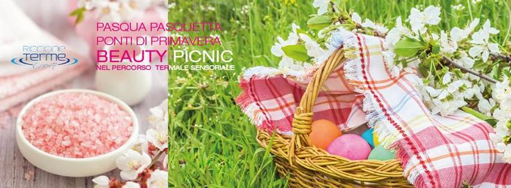 Not yet decided how to spend Easter day in Italy? Enjoy an unusual experience mixing sea, spa and picnic at Terme di Riccione with the Beauty Picnic event in the sensory spa. You can choose between two options: entrance to the thermal centre + cosmetic kit and greedy traditional cakes to be tasted by the pool at € 39.00 per person or at € 70,00 including a relaxing aromatic 25 minutes massage. Offer valid for the next 2 upcoming weekends too!