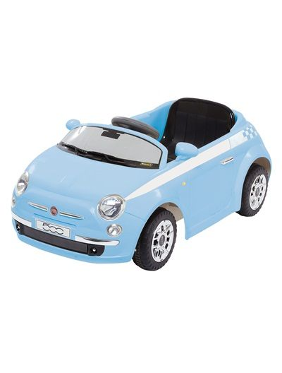 voiture lectrique fiat 500 ride on bleu clair uni vertbaudet enfant bb enfant pinterest. Black Bedroom Furniture Sets. Home Design Ideas