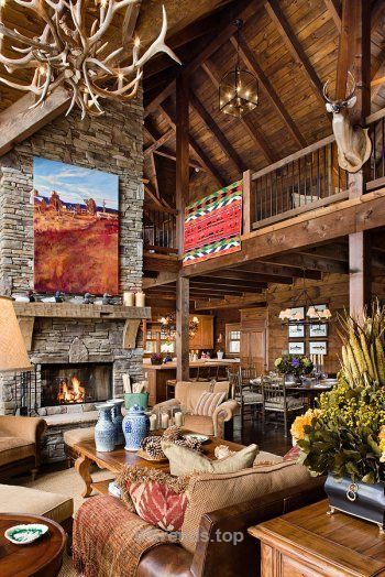 Lovely Big Sky Lodge Style  The post  Big Sky Lodge Style…  appeared first on  99 Trends .