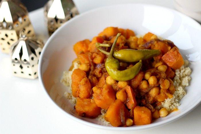 Spiced pumpkin stew - hearty vegan recipe