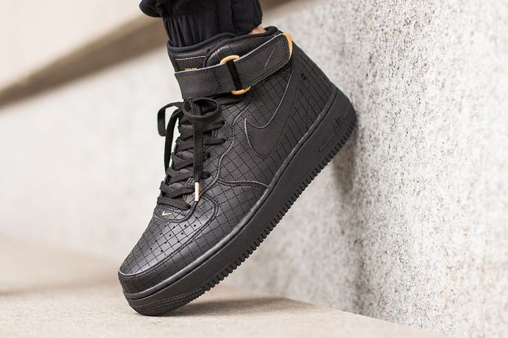 Nike Air Force 1 High VT PRM Suede Anthracite Orange