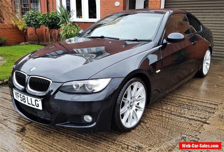 BMW 320D M SPORT COUPE 2DR MANUAL 2.0 DIESEL 2008 #bmw #320 #forsale #unitedkingdom