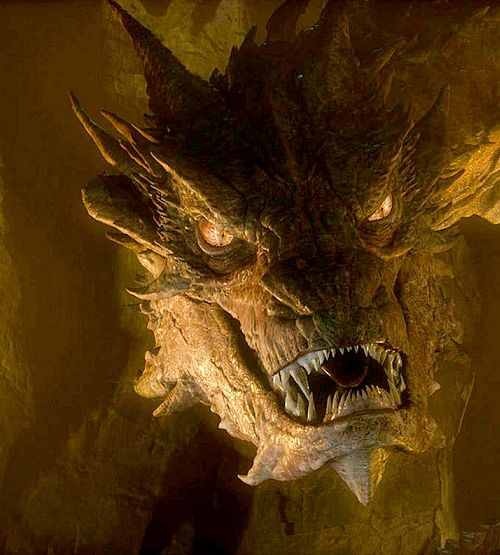 Smaug Yes!! I love smaug even though he is the bad guy!!!