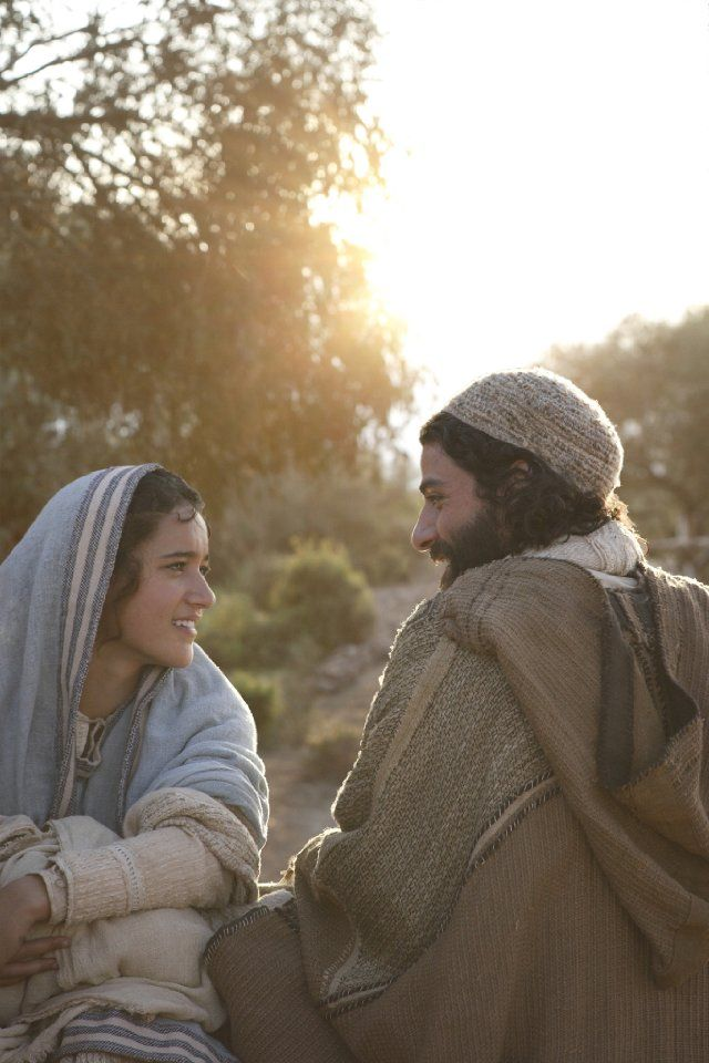 I want a love like this. Keisha Castle-Hughes/Mary & Oscar Isaac/Joseph The Nativity Story