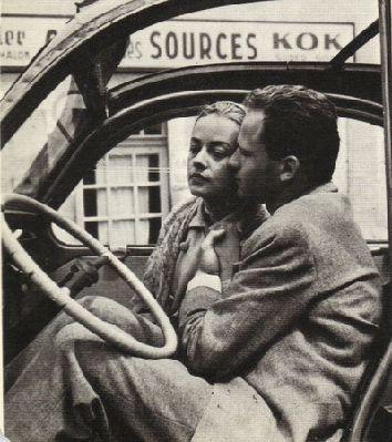 Jeanne Moreau  Jean-Marc Bory,  Les Amants Louis Malle 1958