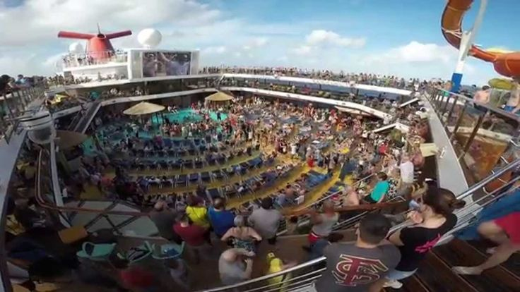 awesome Carnival Breeze 2015 (8 working day Caribbean Cruise) - Go Pro Hero 3+