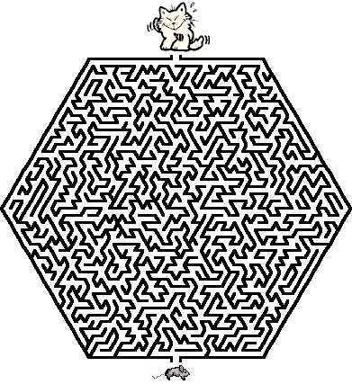 labyrinthe : Jeu Labyrinthe : labyrinthes en ligne ou à imprimer pour enfants et grands