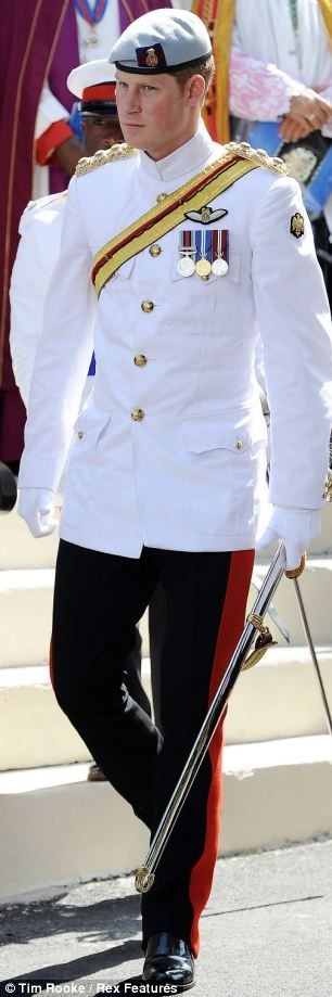 Prince Harry in uniform. What more is there to say!