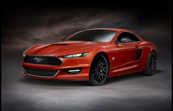 2014 Ford Mustang Side 600x386 2014 Ford Mustang Full Review With Images
