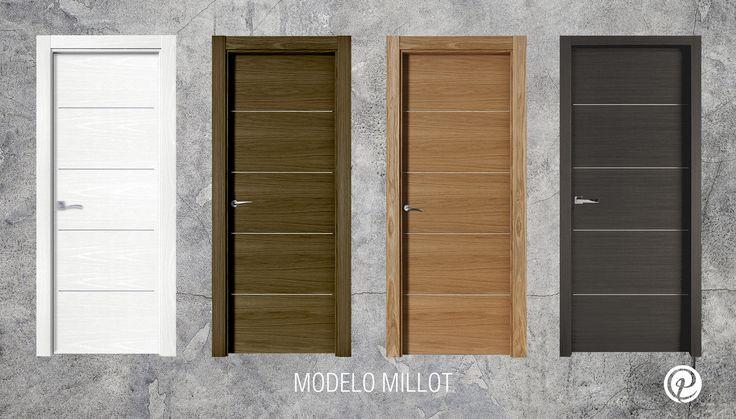 Modelo Millot | Serie Costa Marfil | Puertas de madera | Puertas de interior | Puertas Castalla