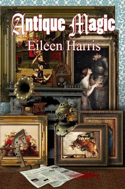 So many #Books , So little time : Book Review: Antique Magic by Eileen Harris #bookreview #bookish #nerd